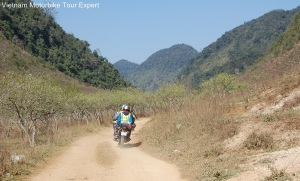 North Vietnam Motorbike