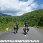 Motorbike North Vietnam
