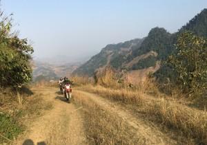 Northwest Vietnam motorbike